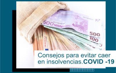 Evita caer en insolvencias