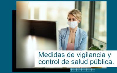 Inspecciones de vigilancia y control de medidas de salud pública