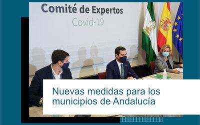 NUEVAS MEDIDAS PARA LOS MUNICIPIOS DE ANDALUCÍA