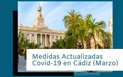 Actualización Medidas Covid-19 en Cádiz