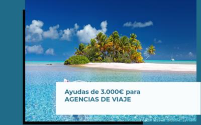 Ayudas de 3.000€ para agencias de viajes en Andalucía
