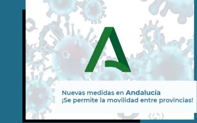 Actualización en las medidas de contención del COVID19 en Andalucía